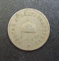 n1. UNGARN Hungary Magyar 10 FILLER 1915 coin munze