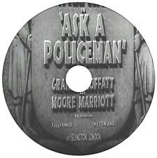 Ask A Policeman - Crime Comdey Adventure - Will Hay, Graham Moffatt - 1939