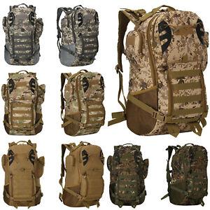 45L Armee militärische taktische Rucksack wasserdicht Outdoor Trekking Rucksack