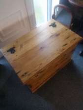 Vintage Pine Blanket Box, Large and Exceptional Quality
