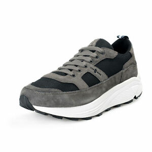 Car Shoe By Prada Men's Suede Leather Fashion Sneakers Shoes 9 10 10.5