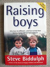 STEVE BIDDULPH - RAISING BOYS - NO.1 BEST SELLER