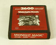 Vintage  Atari 2600 game Midnight Magic Tested  & Working