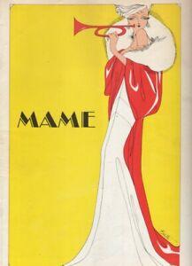 "Janis Paige   ""Mame""   Souvenir Program  1969   STOCK   Marilyn Cooper"