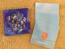 FINLAND SUOMI BU euro coin SET 1999-2001 in box