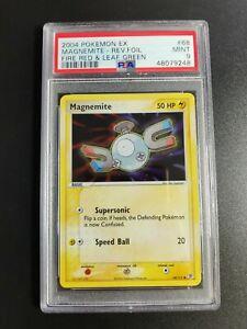 Magnemite | Reverse Holo | PSA 9 MINT 2004 EX Fire Red & Leaf Green #68 Pokemon