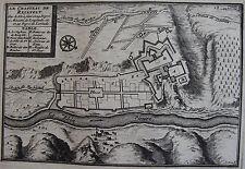CARTE DU CHATEAU DE REINFELT, ORIGINALE XVIII ème