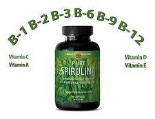 Organic SPIRULINA Powder 100% Plant-Based Dietary Supplement (1 Bottle)