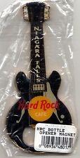 "Hard Rock Cafe NIAGARA FALLS ""BLACK GRETSCH"" Guitar Bottle Opener Magnet - RARE"