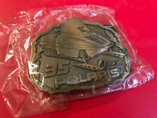 POLARIS • NOS Collector's 35th Anniversary Vintage Indy Snowmobile Belt Buckle