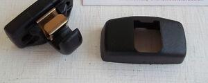 Volkswagen sun visor clip BLACK GENUINE VW - TRANSPORTER T5 T6 CADDY PASSAT GOLF