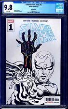 Silver Surfer Black #1 THIRD PRINT B&W SKETCH VARIANT CGC 9.8 DONNY CATES RARE
