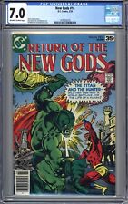 New Gods #16 - CGC Graded 7.0 (FN/VF) 1978 - Bronze Age