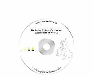 The Parish Registers Of Lowther Westmorland 1540-1812
