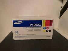 Samsung Genuine CLT-P4092C Toner Cartridge Value Pack CLP-310/315 CLX-3170/3715
