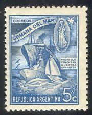 Argentina 1944 Naval Week/Liner/Warship/Yacht/Ships/Boats/Transport 1v (n24216)
