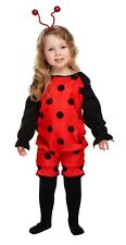 Kids Ladybug Fancy Dress Costume Lady Bird Insect Cute Bug Girls Book Toddler