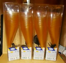 24 PLASTIC CHAMPAGNE FLUTES BRAND NEW BOXED 12CL