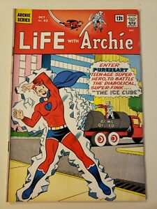 Life With Archie #42 (Oct. 1965, Archie). VG+ 4.5/UP! 1st Pureheart the Powerful
