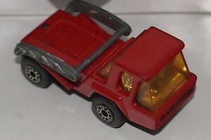 ORIGINAL Matchbox Superfast - Skip Truck No 37 - Red Color - NO DUMP BUCKET