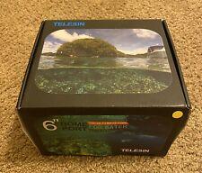 TELESIN 6''Dome Port Camera Lens Transparent Cover for GoPro Hero 3/3+/4