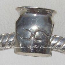 Biagi Bead Sterling Silver, Aquarius zodiac Sign Designer Charm Jewelry BSZL02