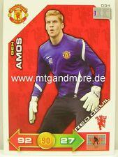 #039 Fabio da silva-red devil ADRENALYN xl Manchester united 11//12
