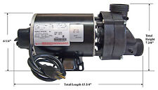Bathtub Pump - 3/4hp w/ Air Switch & Cord 115volts - Pre-installed Heater Jacket