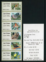 BIRDS 1  Post & Go PLYMOUTH  K2 1ST CLASS SET OF 6   SCARCE  SG CAT £45