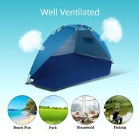 Ultralight Portable Beach Canopy Sun Shade Shelter Outdoor Camping Fishing Tent