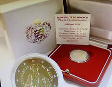 2 Euro 2020 Monaco Honore III Gedenkmünze PP proof Etui Zertifikat