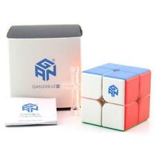 GAN 249 V2 M 2X2 Magnetic Magic Cube Educational Toys Twist Puzzle Kids Gift