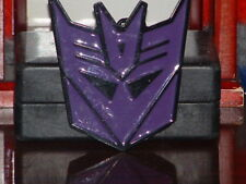 Pre-Owned Transformers Purple and Black Belt Buckle