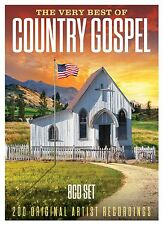 The Very Best of Country Gospel 8CD Set - 200 Tracks - Brand New & Sealed