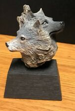 The Pack Rick Cain 1996 Limited Edition Wolf Sculpture 247/2000