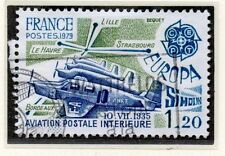 TIMBRE FRANCE OBLITERE N° 2046 SIMOUN AVIATION POSTALE / Photo non contractuelle