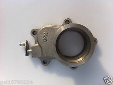 """T04E T3/T4 T3 5 bolt to 2.5"""" vband cast iron turbo exhaust flange adapter"""