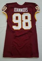 #98 Matt Ioannidis of Washington Redskins NFL Game Issued & Worn Jersey