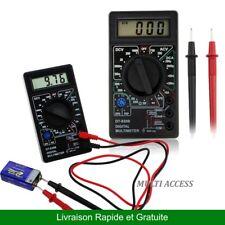 Multimètre voltmètre ampèremètre ohmmètre digital LCD testeur électrique