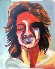 Original Surrealism Abstract Portrait Painting Ukrainian artist Francis Bacon