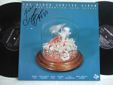 CHAMPION JACK DUPREE The Blues Jubilee Album 2LP Hand-signed autograph Pinorrekk