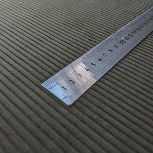 Premium quality corduroy upholstery fabric velvet 140cm wide dark green