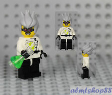 LEGO Series 4 - Crazy Mad Scientist Minifigure Flask Lab 8804 Collectible CMF