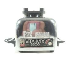 Vita-Mix motor, 3600, Heavy Duty, Stainless Steel, Vintage, Retro, Silver