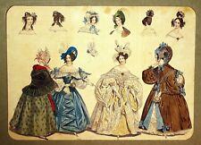 Wien=Anonymer Altcolorierter Modestich um 1836