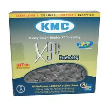 KMC x9e ecoproteq (anti-óxido) 9 veces cadena // 136 eslabones