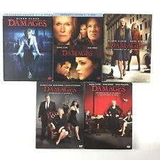Damages L'intégrale De La Série Saison 1 2 3 4 5 Coffret Lot DVD