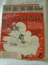 Vintage Sheet Music There Goes That Song Again - Carolina Blues