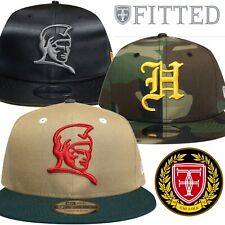Fitted Hawaii Hat Kamehameha H Pride Snapback Khaki Camo Black 3 Caps Bundle New