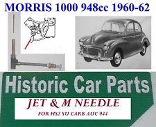 MORRIS MINOR 1000 948cc 1960-62 HS2 SU CARBURANT M AIGUILLE & JET MONTAGE auc944